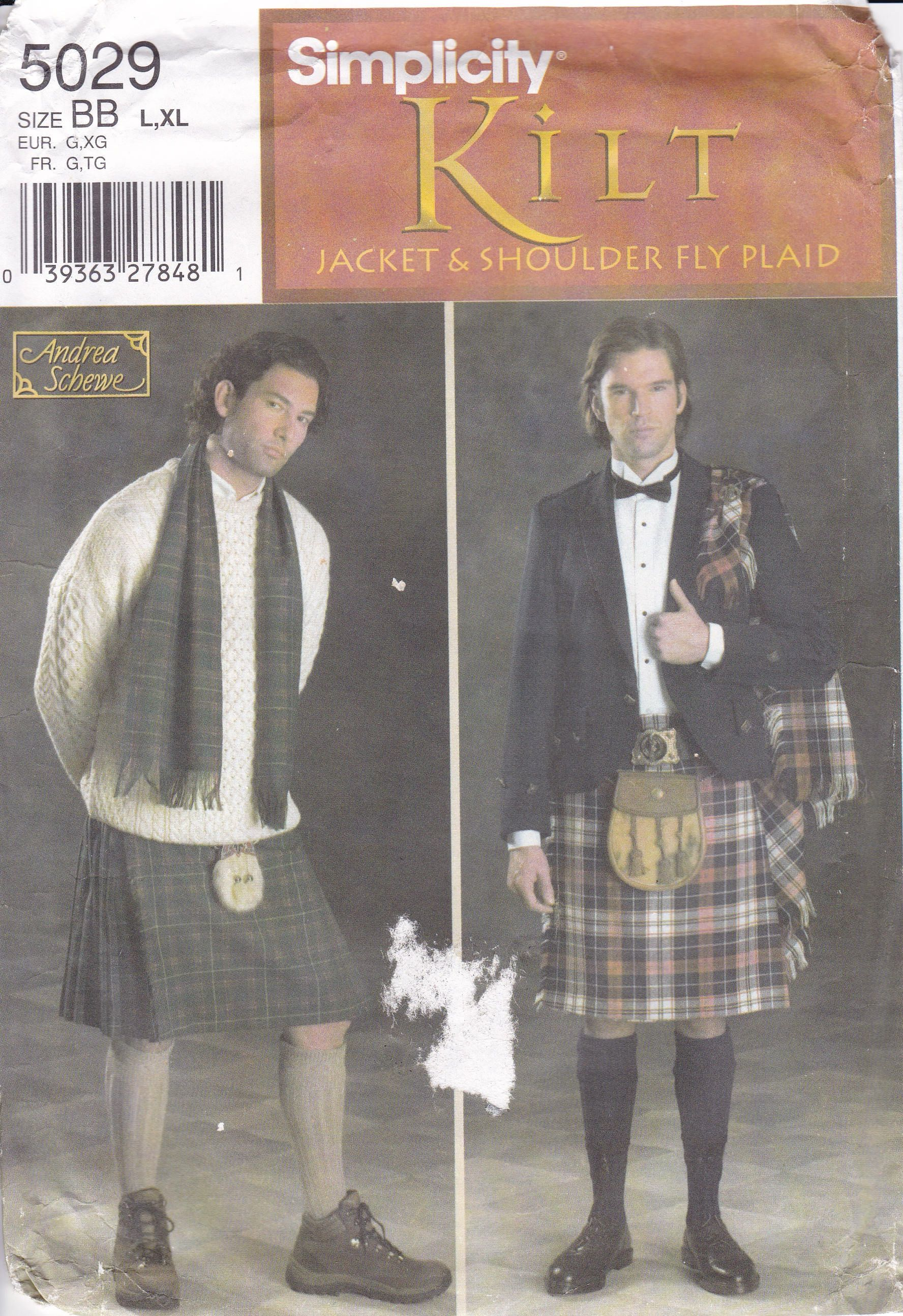 Kilt Sewing Pattern Unique Design