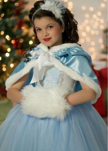 d3373ad41 Kids Girls Frozen Elsa Anna Dresses Costume Princess Party Fancy ...