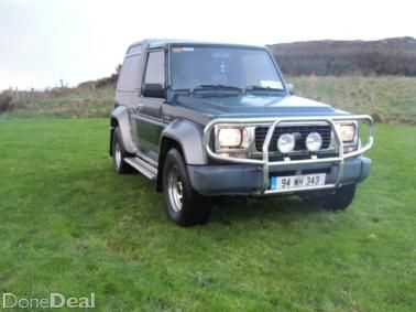 Daihatsu Fourtrak For Sale in Donegal on DoneDeal