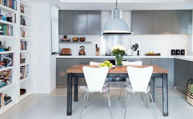 Hängelampe Küche | Einrichtungsideen Kuche Einrichtungstipps Esstisch Metall