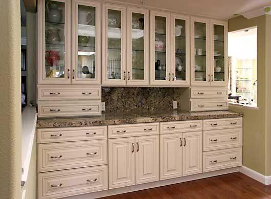 Kitchen Cabinets Cream butter cream glazed kitchen cabinets | cream maple glazed