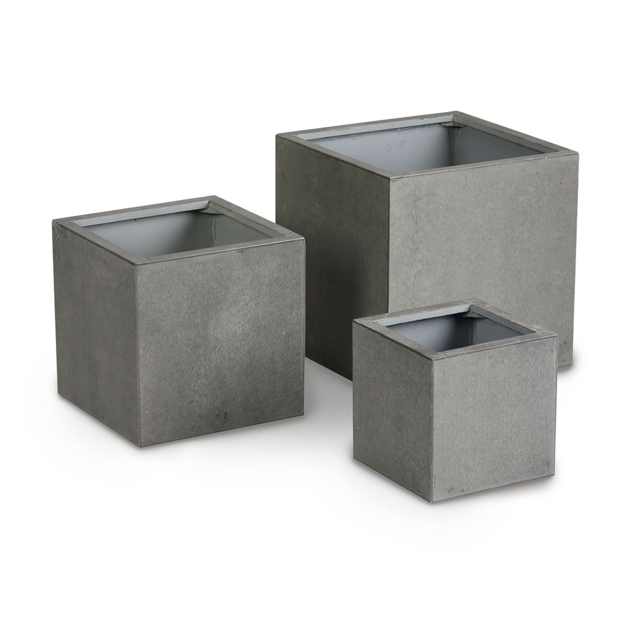 "pflanzkübel ""rockall"" im ästhetischen beton-look - absolut"