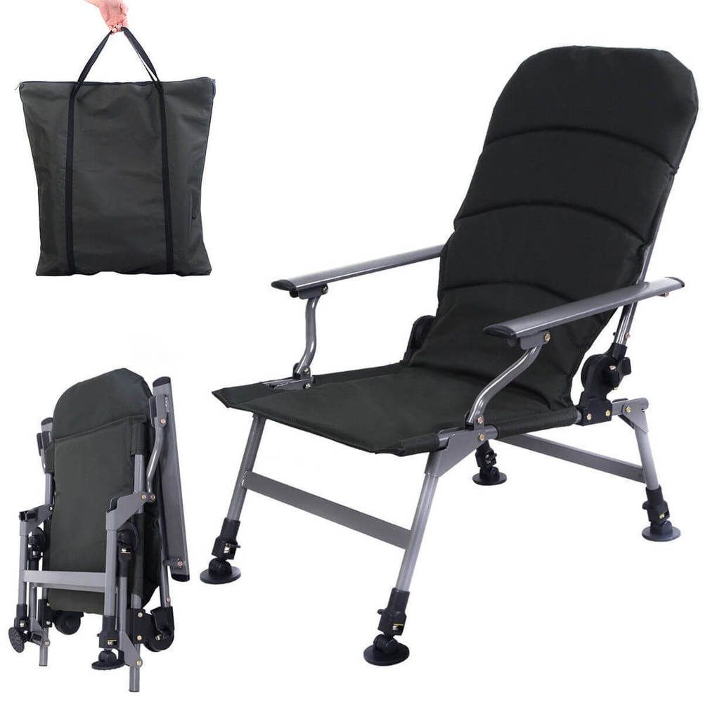 Backpack fishing chair - Folding Fishing Chair Portable W Carry Bag Outdoor Camping Picnic Beach Seat New 1