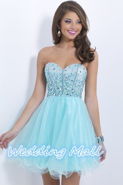 Amazon.com: Dresstells Sweetheart Organza Short Prom Cocktail ...