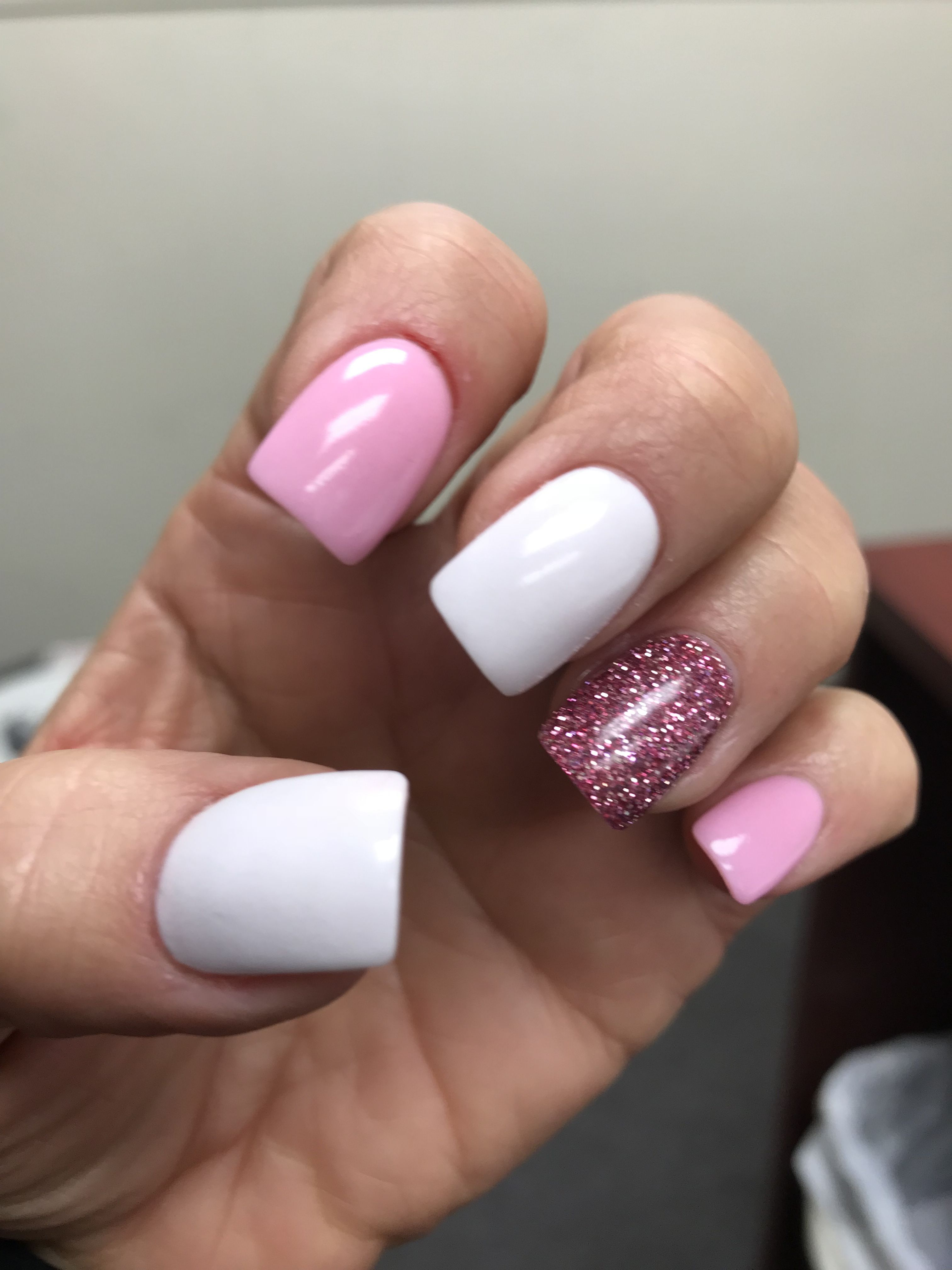 Dipping powder. Summer nails. (With images) | Dipped nails ...