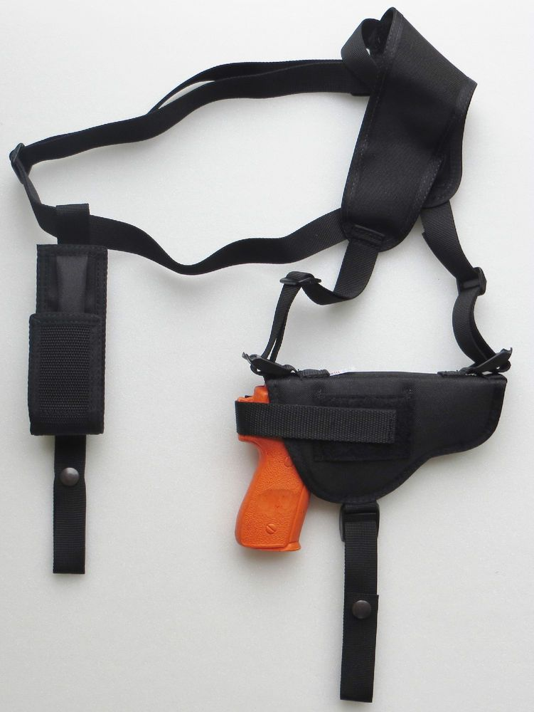 $25 Gun Shoulder Holster for WALTHER PPQ with Extra Magazine