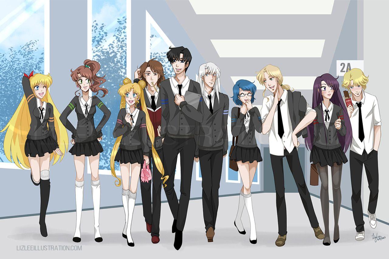 Senshi Academy by lizleeillustration