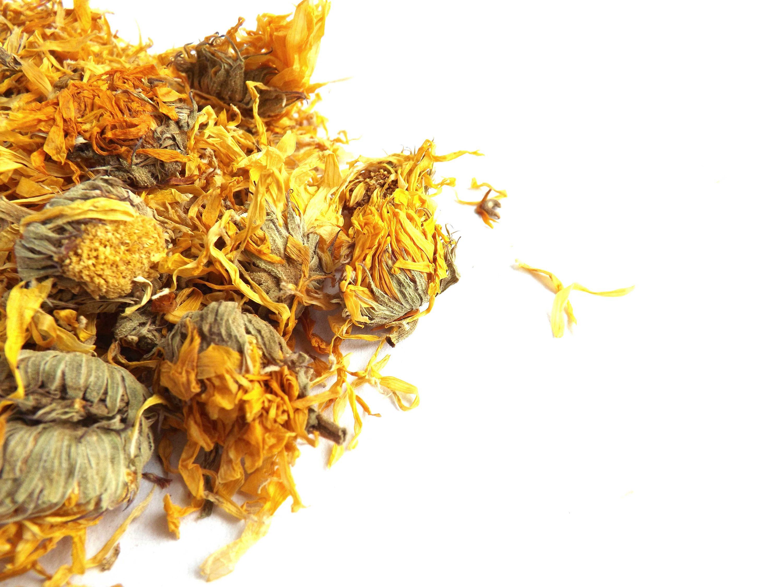 Dried Marigold Flowers , Calendula Flowers Tea, Infusion