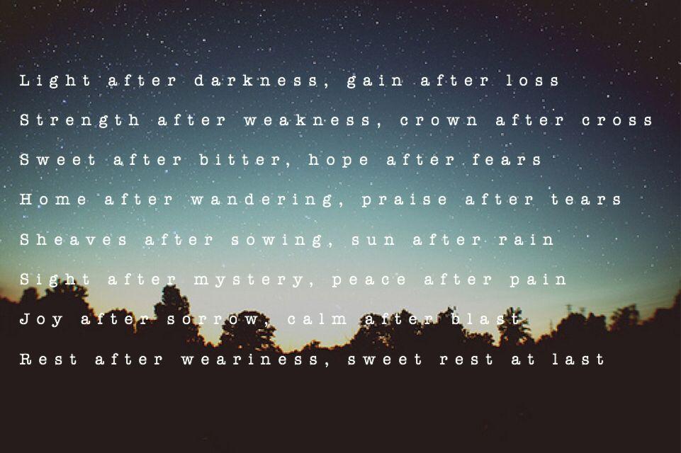 Lyric sometimes you have to encourage yourself lyrics : Lyrics to Light After Darkness - King's Kaleidoscope. | *S O U L ...