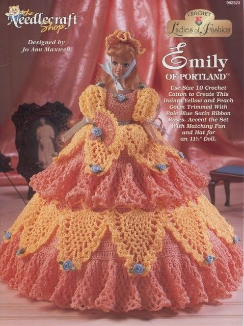 Barbie Crochet: Emily Of Portland | vestiditos muñecas | Pinterest ...