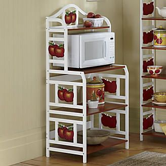 apple microwave cart from seventh