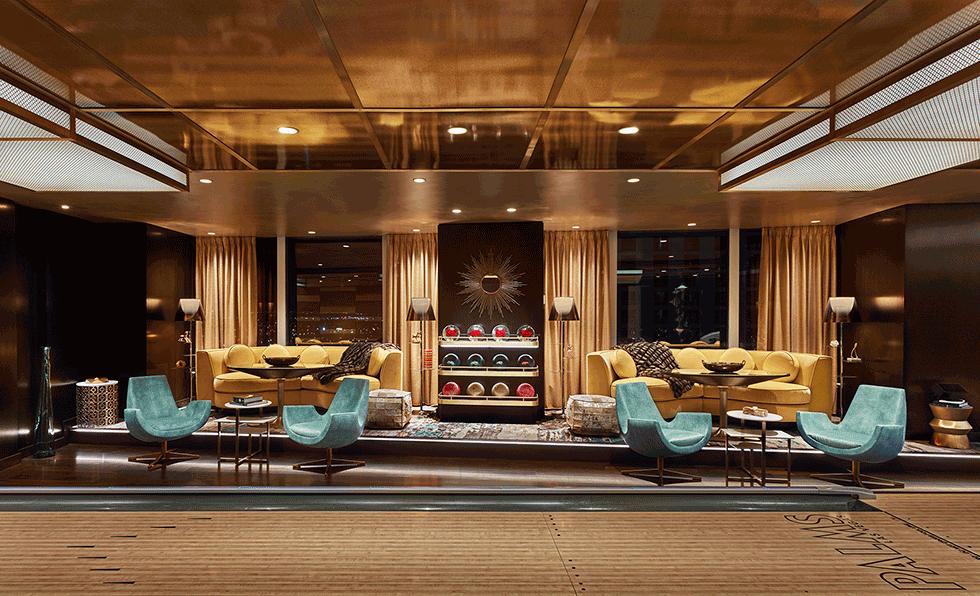 Recent Projects Las Vegas 2019 Hospitality Design תקרה