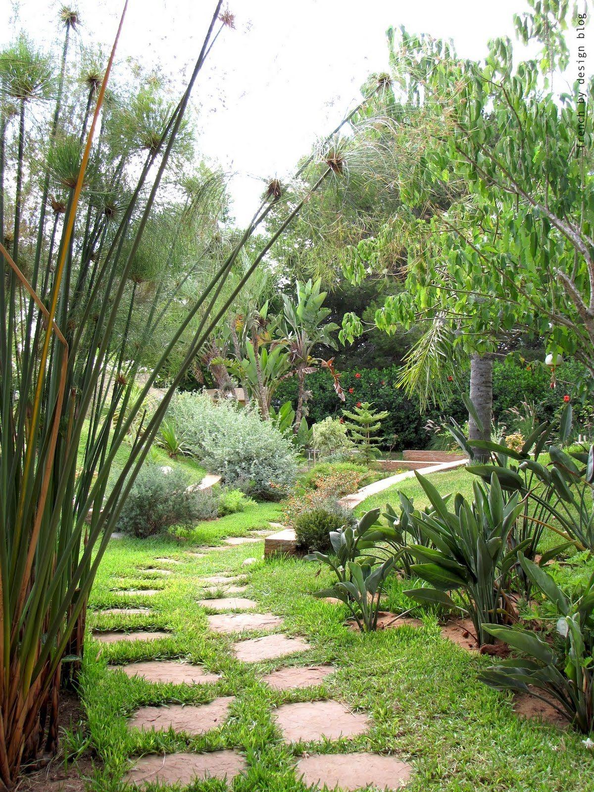 only green garden