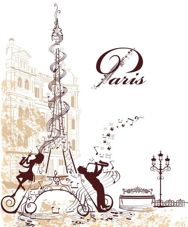 paris tour eiffel etiquetas pinterest decoupage. Black Bedroom Furniture Sets. Home Design Ideas