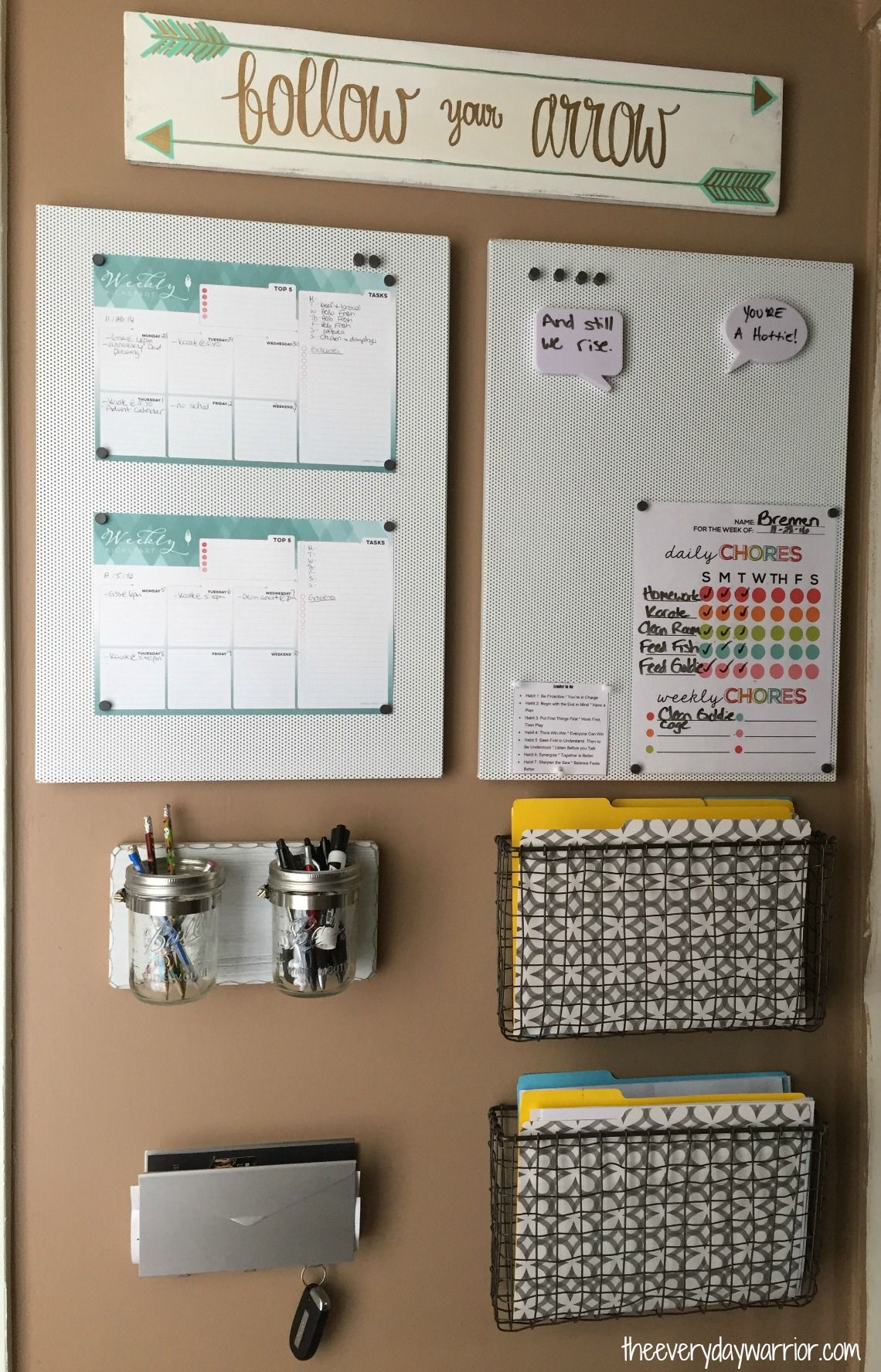 Home Office Organization Ideas Diy Command Centers