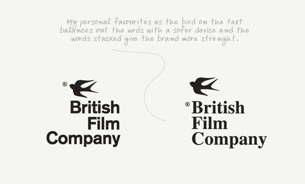 The British Film Company by SandisonPay , via Behance