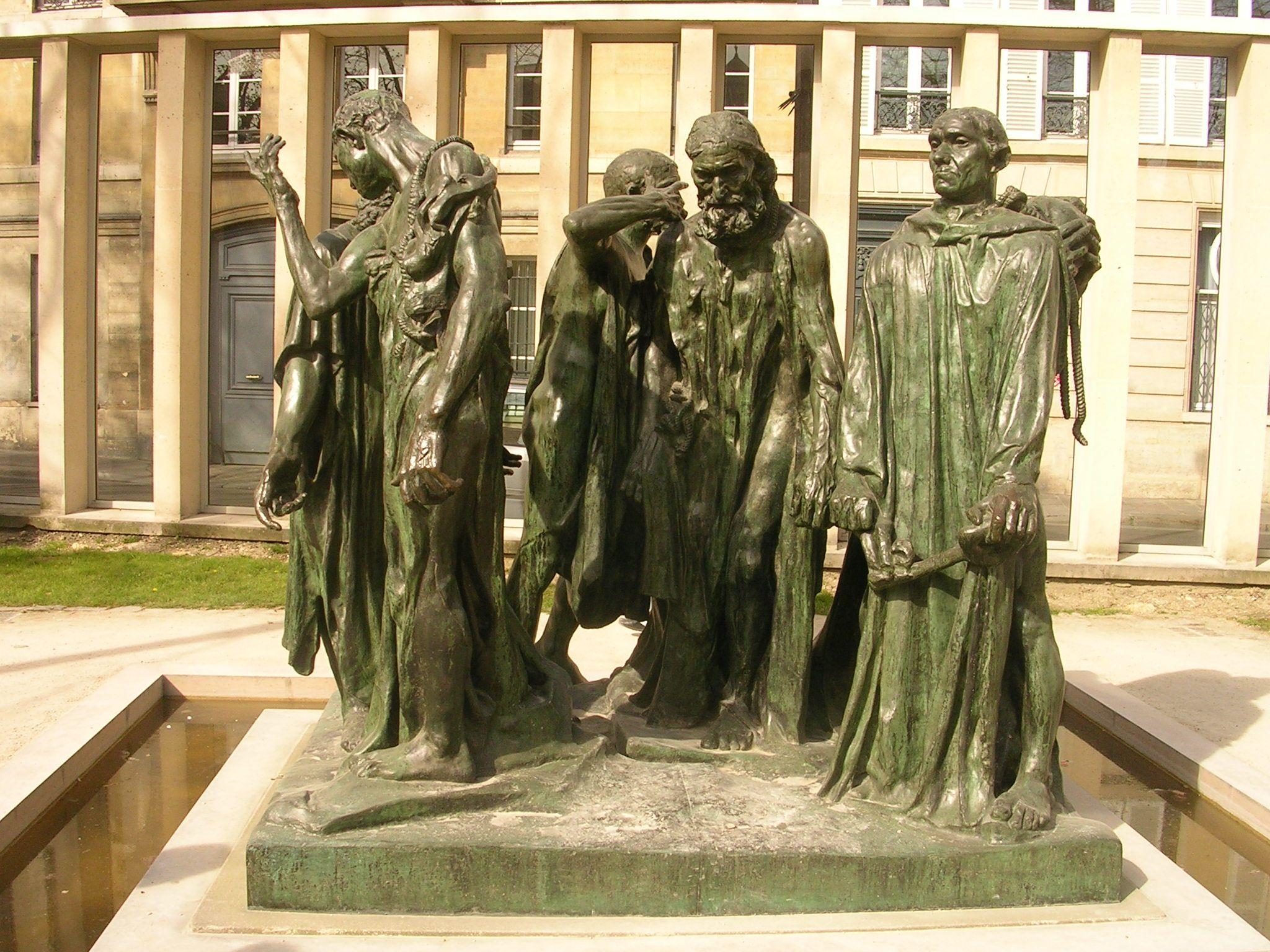 Auguste Rodin - Les Bourgeois de Calais - Musée Rodin (Paris ...