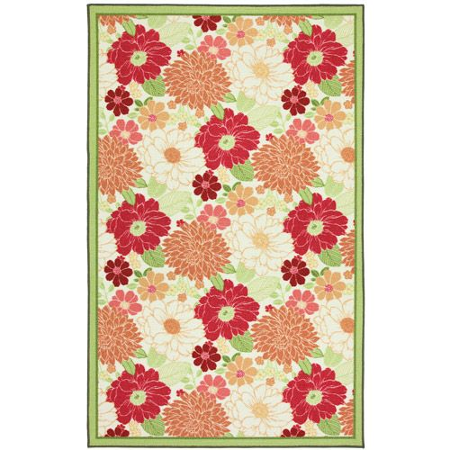 f2fc7ba0884 Better Homes and Gardens Lake Island Floral Cascade 5  x 8  Area Rug ...