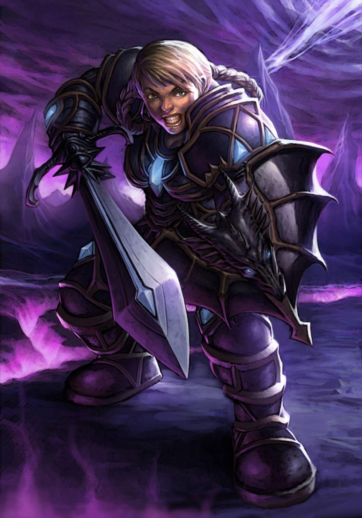 World Of Warcraft Female Dwarf Warrior Love Nerd Stuff