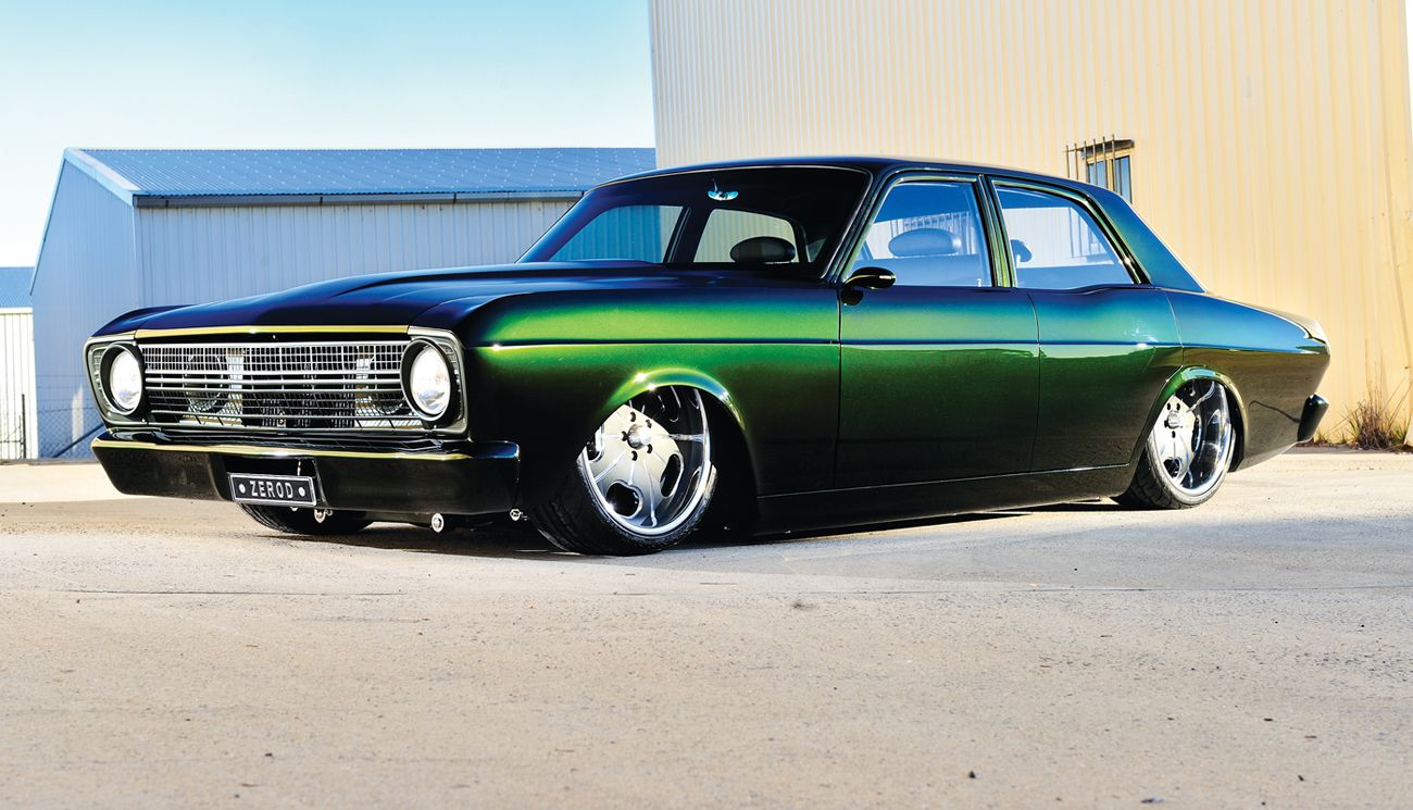 Custom Classic Muscle Cars | Eco-Friendly 600 Horsepower Falcon ...