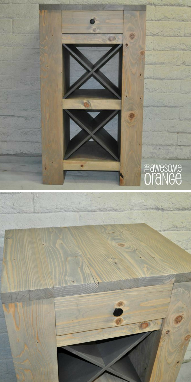 How to build a DIY Wild Wine Bar | Free printable project plans on ...