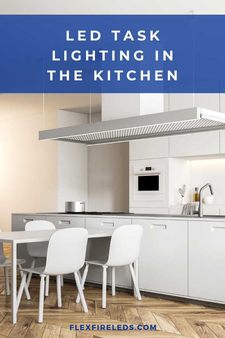 Led Task Lighting For The Kitchen Great Way To Brighten Up The Dark Corners Of A Kitchen And It Lets Kitchen Lighting Design Kitchen Style Led Light Design