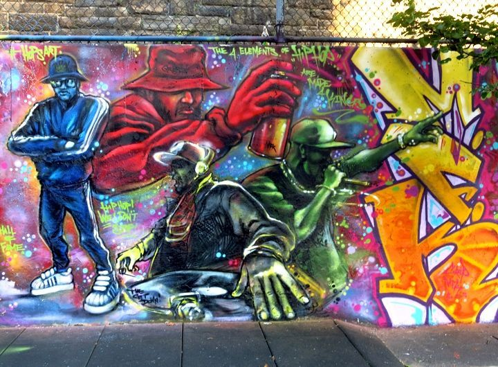 At The Graffiti Hall Of Fame In East Harlem With Pro  Pfunk More