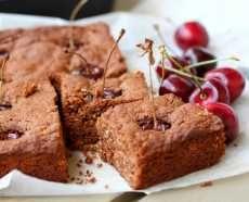 Chocolate cherry coconut cake recipe