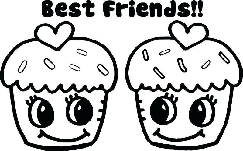 Best Friend Coloring Pages To Print