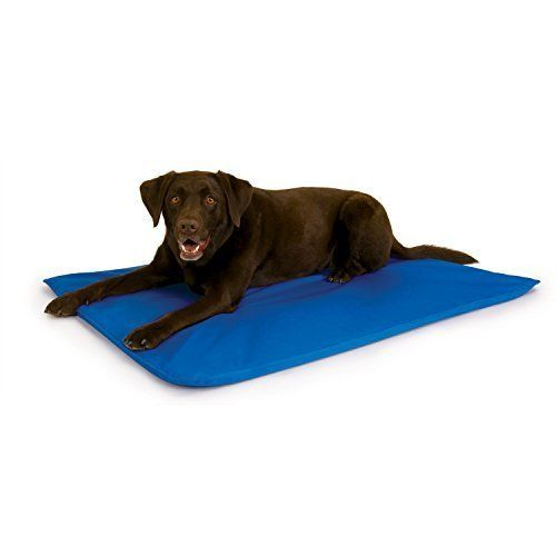 Dog Cooling Bed Cool Pad Mat Large Sleeping Outdoor Hot Canine Pets Sleep New #KHPetProducts