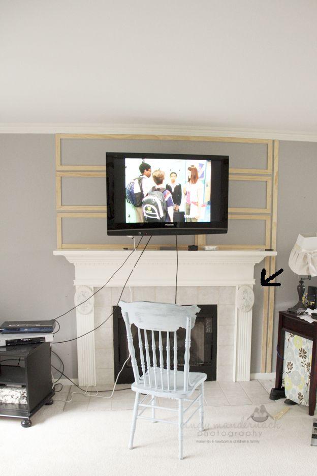 Cameras And Chaos Living Room Tv Wall Living Room Tv Wall Mounted Tv #wall #mounted #tv #living #room