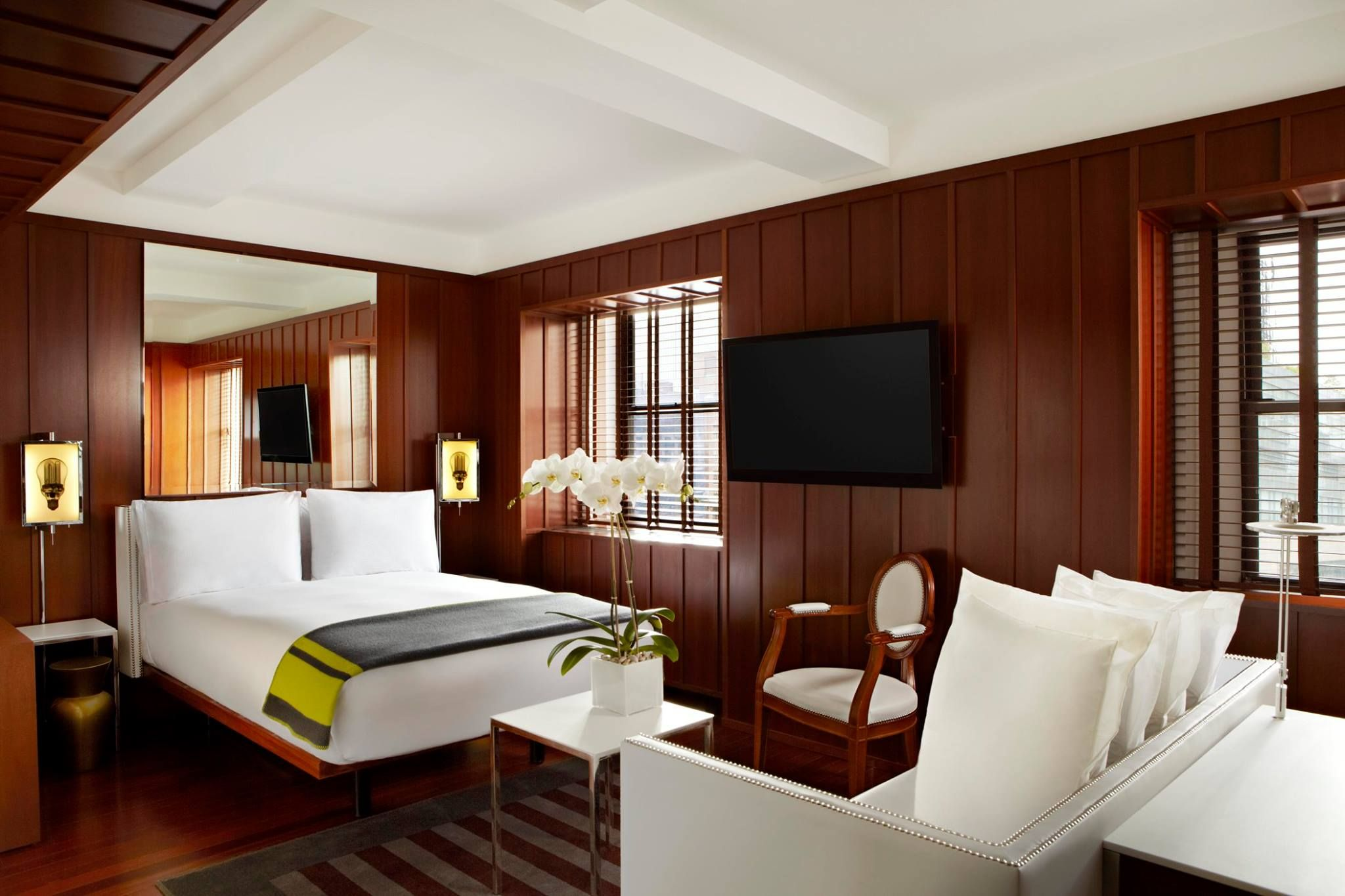 Hudson hotel nyc new york ny ecotimber hardwood brazilian cherry