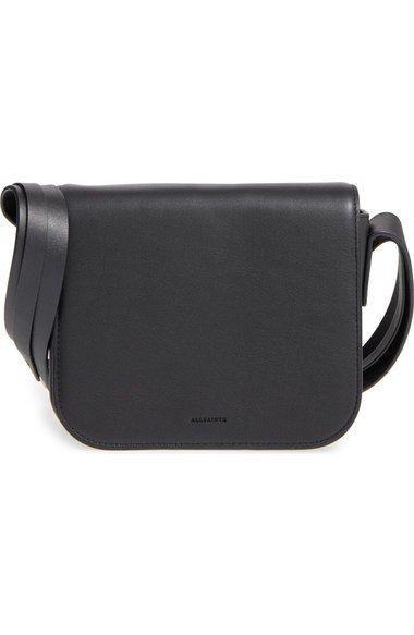 super service cozy fresh great deals ALLSAINTS 'Ikuya' Leather Crossbody Bag. #allsaints #bags ...