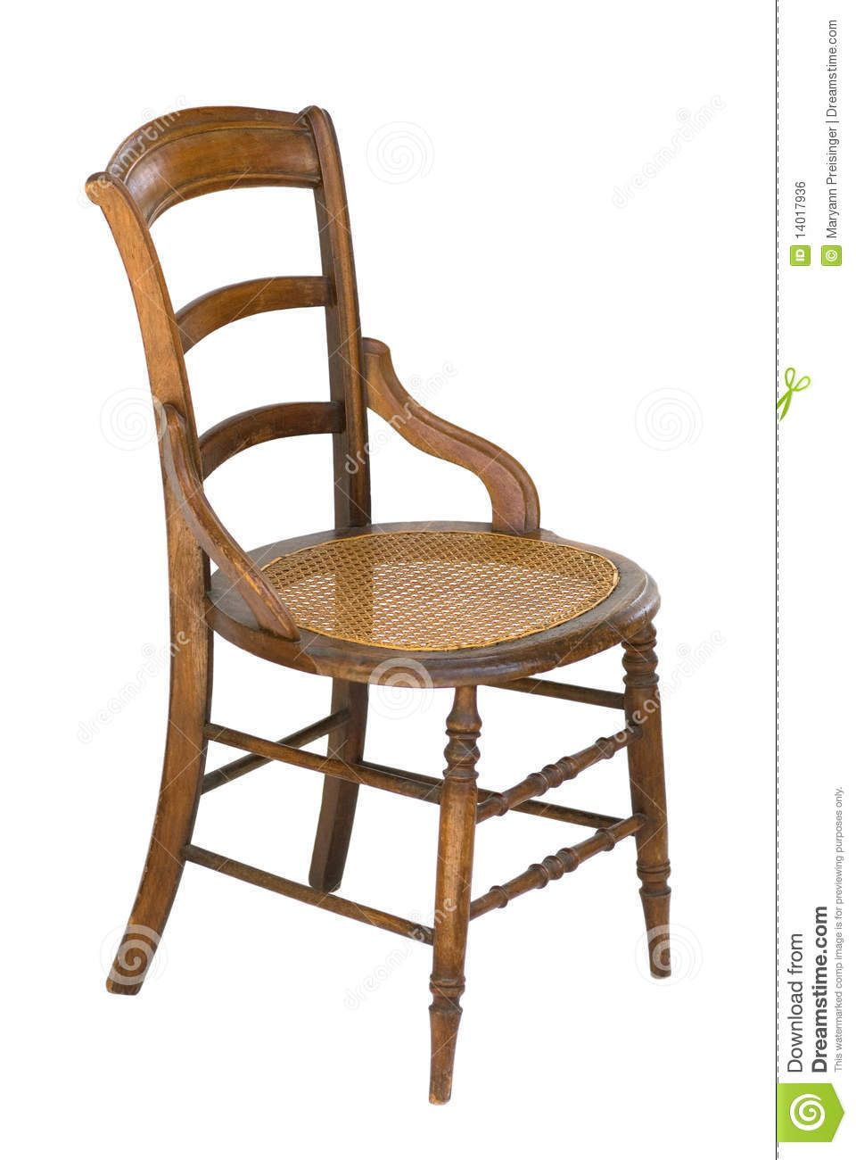 antique+chair | This is an old wood chair with spindles and a cane seat - Antique+chair This Is An Old Wood Chair With Spindles And A Cane