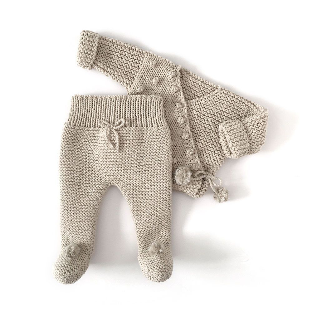 Nur Knitted Baby Legging Pattern Tutorial Baby Leggings