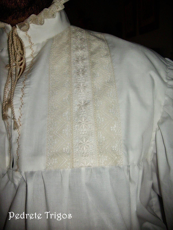 El aprendiz de sastre.: Camisa labrada.