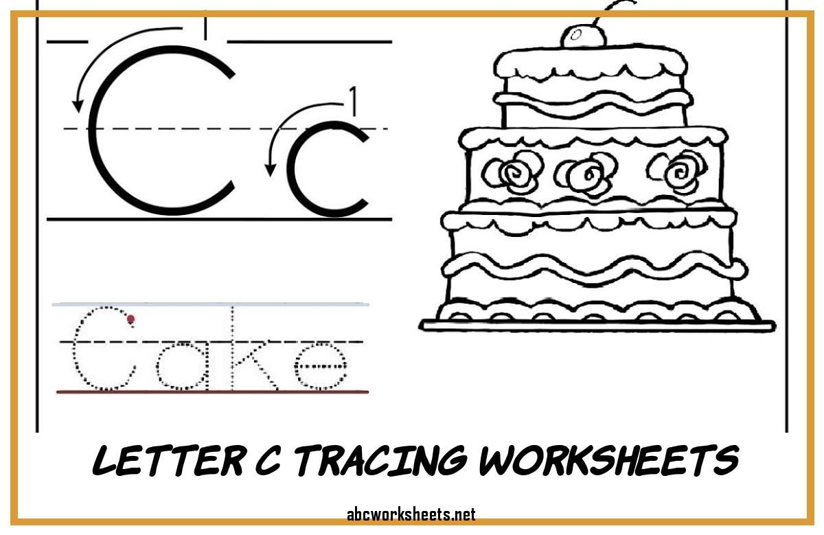 Letter C Tracing Worksheets Letter C Tracing Worksheets