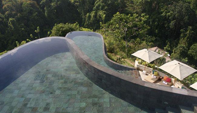 Ubud hanging gardens Indonesia