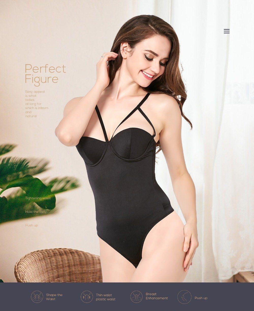 7913432ae Women s Body Shaper Bodysuit Seamless Slimming Control Shapewear Bodysuit Shaper  Sexy Slimming Underwear For Women