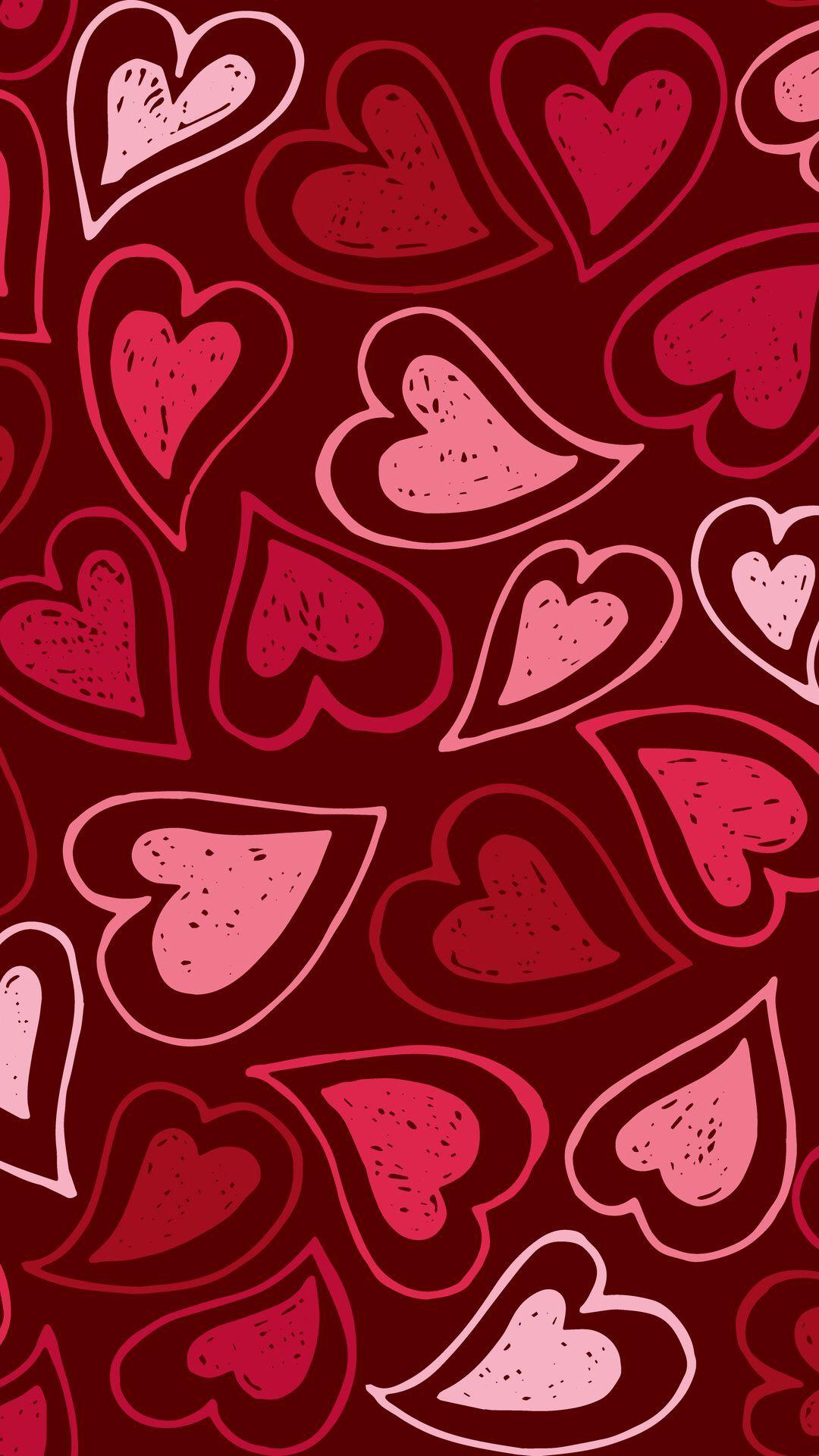 Cute Red Pattern Wallpaper Hd Love Wallpaper Backgrounds Abstract Iphone Wallpaper Pattern Wallpaper