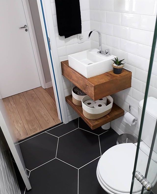 Photo of 16 ideas to successfully bring together a small bathroom
