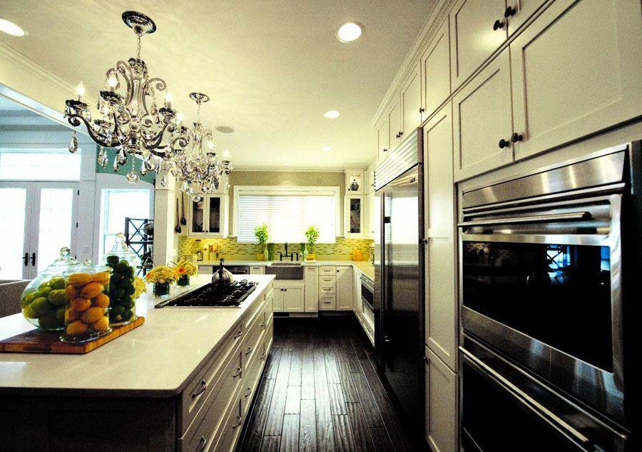 25 Kitchen Design with Dark Hardwood Floors - Aida Homes   kitchen ...