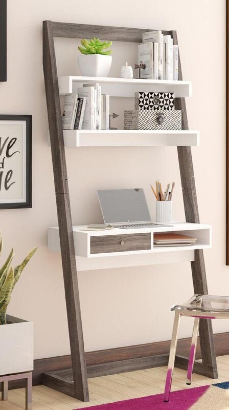 Otthoni Íróasztal x 55 cm Krémszínű PARAMARIBO | rohamjelvenyek.hu