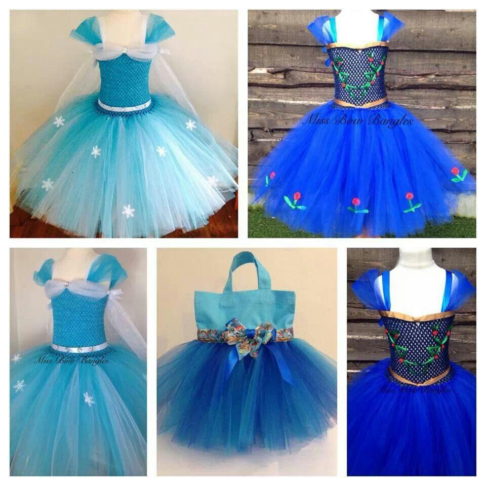 Elsa Dress Anna Inspired Tutus