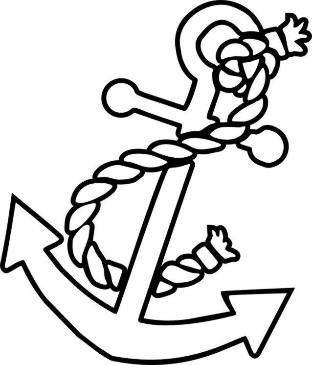 Dashing image inside printable anchor stencil