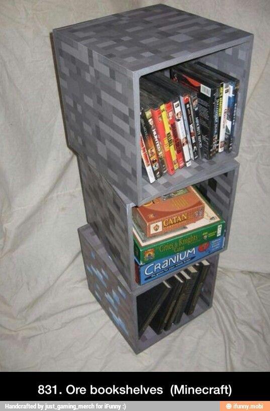 Bücherregale Minecraft minecraft bookshelf i want u minecraft und