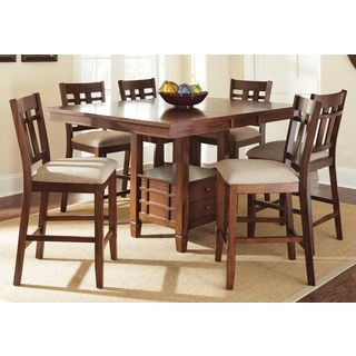 Shop for Greyson Living Blake Medium Oak Dining Set with Self-storing Leaf and more for everyday discount prices at Overstock.com - Your Online Furniture Store!