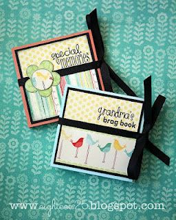 Grandmas Brag Book Tutorial And Printables Diy Gifts Mini