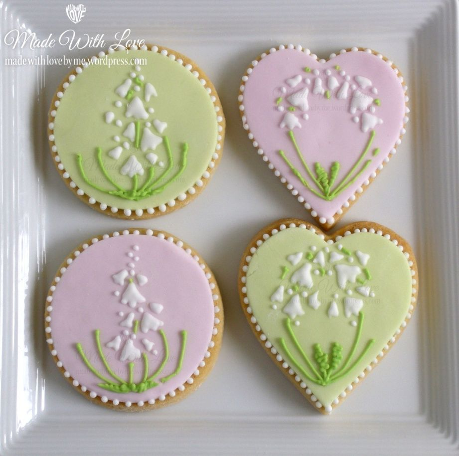 Lily of the Valley Cookies