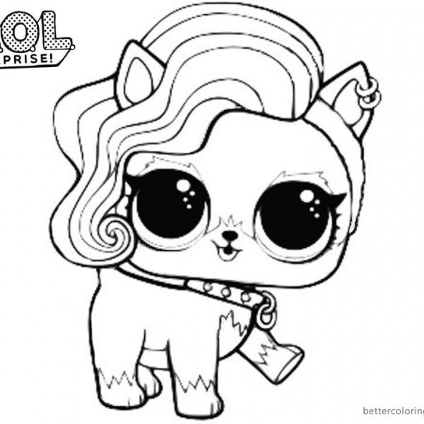 Mermaid Lol Surprise Doll Coloring Pages Merbaby Unicorn Coloring Pages Cartoon Coloring Pages Valentine Coloring Pages